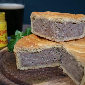 Sausage, Sage & Onion Pie